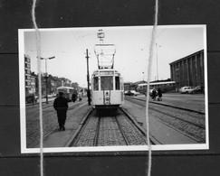 PHOTO TRAM 90 MONS GARE  REPRO - Tram