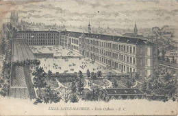 01 - 2021 - NORD - 59 - LILLE - SAINT MAURICE - Ecole Ozanam - Lille