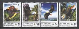 St Vincent Grenadines - MNH Set SAINT VINCENT AMAZON PARROT - Parrots