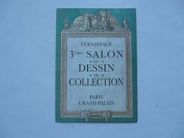 VIEUX PAPIERS - VERNISSAGE Du 3ème SALON Du DESSIN De COLECTION : Paris Grand Palais - Françoise De PANAFIEU 1993 - Biglietti D'ingresso