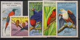 Sénégal - 1960 - Poste Aérienne PA N°Yv. 31 à 35 - Oiseaux / Birds - Neuf * / MH VF - Non Classificati