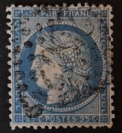GRANDE CASSURE Superbe Variété Planchage 144A2 9ème état - 1871-1875 Ceres