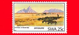 Nuovo - MNH - AFRICA SUD OVEST - SWA - 1982 - Paesaggi - Montagne - Spitzkuppe, Karakul - 25 - Zuidwest-Afrika (1923-1990)