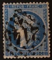 GRANDE CASSURE Superbe Variété Planchage 147A2 9ème état - 1871-1875 Ceres