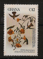 Ghana - 1985 - N°Yv. 888 - Audubon / Oiseau / Bird- Neuf Luxe ** / MNH / Postfrisch - Non Classificati