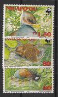 Niuafo'ou - 1992 - N°Yv. 176 à 178 - Mégapode / WWF - Neuf Luxe ** / MNH / Postfrisch - Non Classificati