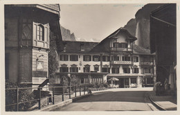 Lauterbrunnen - Hotel Steinbock - Carte Photo - BE Berne