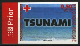België 3367 – Rode Kruis – Croix-Rouge – Tsunami 2004 – ON – Cote: € 20,00 - Ongetande