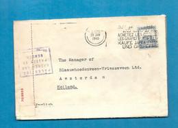 PALESTINE  Pour AMSTERDAM (HOLLAND/Pays Bas).  CENSORSHIP/CENSURE. 1940 - Palestine