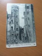 CPA-Auvergne-Tallende-Vieille Tour Gallo-Romaine-2 Cachets Censures-WW I-1916 - 1901-1940