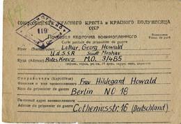 1947, Kriegsgefangenen Post, Moskau Nach Berlin, *125 - Unclassified