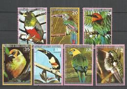 Equatorial Guinea 1974 Year , Used  Stamps Parrots Birds - Guinea Ecuatorial