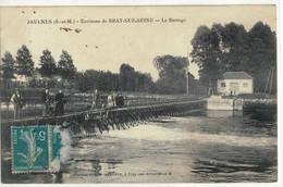 CPA  JAULNES   Le Barrage - Altri Comuni