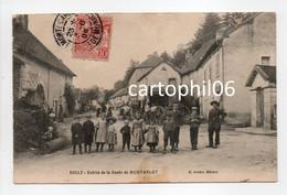- CPA BOULT (70) - Entrée De La Route De MONTARLOT 1909 (belle Animation) - Edition Guidot - - Altri Comuni