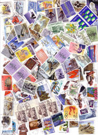 Iceland Lot Of 100 Stamps Off Paper, Some Duplication - Collections, Lots & Series