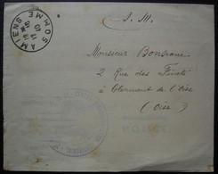 Amiens 1940 Document Avec Cachet Du Centre D'administration Territorial, Commandant De Fosseux, Arrêt Des Hostilités - Guerre De 1939-45