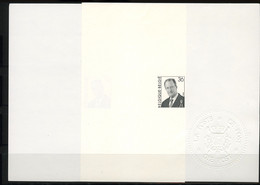 België 2690/91 - Koning Albert II - Roi Albert II - Opl.: 75ex - Zeldzaam - Rare - Ministerial Panes