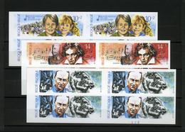 België 2387/89 ON - Jeugd En Muziek - Graaf Van Egmont - Beethoven - Cantré - MET Plaatnummers - Ongetand - Non Dentelé - Imperforates