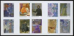 België GCD 11 - 2013 - Théo Van Rysselberghe - Kunst - Art - (B138) - Zwarte/witte Blaadjes