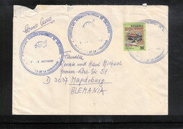 Ecuador - Provincia De Galapagos Interesting Airmail Letter - Equateur