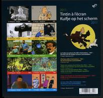 België GCD 9 - 2011 - Strips - BD - Kuifje Op Het Scherm - Tintin à L'écran - (BL192) - Zwarte/witte Blaadjes