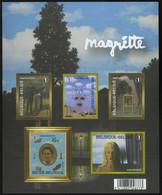België GCD 4 - 2008 - René Magritte - (BL151) - Zwarte/witte Blaadjes