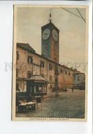 435933 Italy Civitavecchia Apostolico Palace Merchants On Street Old Postcard - Unclassified