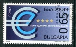 BULGARIA 2002 Euro Currency Used.  Michel 4543 - Gebraucht