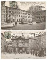 Lot De 2 CPA D'AVIGNON (84) – Place Crillon / Caserne Des Passagers. Voir Scans Pour L'état - Avignon