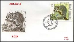 [F7267] 2480 - FDC - Natuur - Kleine Zoogdieren  #7  P1031 - 1991-00