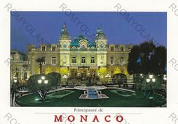 CARTOLINA PRINCIPAUTE DE  MONACO,LE CASINO, NOTTURNO NON VIAGGIATA - Casino