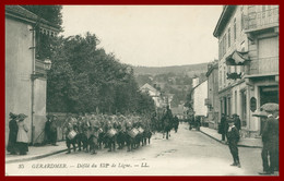 GERARDMER - Défilé Du 152 De Ligne - Militaria - Tambour - Animée - Edit. L.L. - Gerardmer