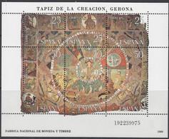 1980 Tapiz De La Creatcion - Gerona - Mi. Block 22  ( 2476-2481) MNH** - Blocs & Feuillets