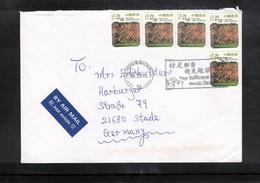 Hong Kong 2016 Interesting Airmail Letter - Cartas