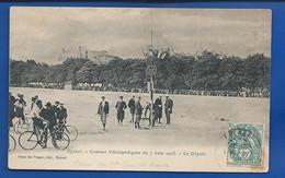 EPINAL       Courses Vélocipédiques Du 7 Juin 1903   Le Départ   Animées     écrite En 1907 - Epinal