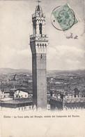 SIENA-3 CARTOLINE ANNO -DUE CARTOLINE  VIAGGIATE 1909-1929 - Siena