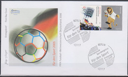 Soccer World Cup 2006 - GERMANY - FDC Cover - 2006 – Alemania