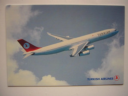 Avion / Airplane / TURKISH AIRLINES / Airbus A340 / Airline Issue - 1946-....: Modern Era