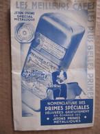 Dépliant Pub - AU PLANTEUR DE CAÏFFA - PRIMES SPECIALES - Illustration : F. DECAIX 1935 - Drukkerij & Papieren