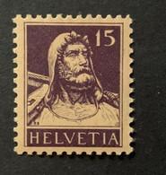 11315 - Buste De Tell No 128c 15ct Violet Foncé   ** Neuf MNH Catalogue 110 CHF - Unused Stamps
