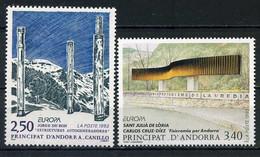 Andorre Français YT 430-431 Neufs Sans Charnière - XX - MNH Europa 1993 - Unused Stamps