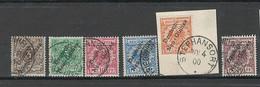 Nouvelle Guinée Allemande - Yvert 1 à 6 - Oblitérée - Superbe - Colonia: Nueva Guinea