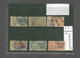 Timbre Fiscal  Fiscaux  Carte Identité étrangers - Revenue Stamps