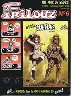 FRILOUZ N°6  Juin Juillet Août 1983 - Andere Tijdschriften