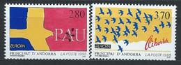 Andorre Français YT 457-458 Neuf Sans Charnière - XX - MNH Europa 1995 - Unused Stamps