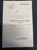 BOISSY L'AILLERIE-pub Garage Seyer - Boissy-l'Aillerie