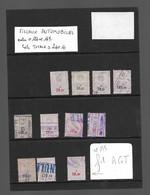 Timbre Fiscal  Fiscaux   Automobile - Revenue Stamps