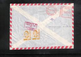 Peru 1993 Interesting Airmail Letter - Peru