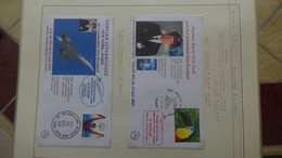 Q76 Thématique Concorde En 4 Volumes SAFE Avec étui. Volume N° 2 Voir Commentaires. A Saisir  !! - Sammlungen (im Alben)