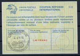 UNO GENF( 65th )CONFERENCE INTERNATIONALE DU TRAVAIL 4.6.79Reply Coupon Reponse IRC IAS Antwortschein La23A 1,40 FR. - Covers & Documents